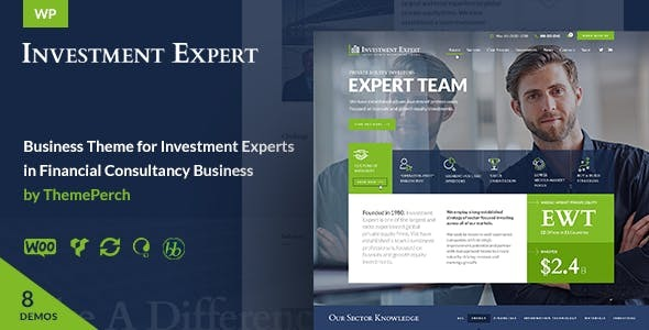 Investment Expert - Business Theme for Investors in Financial Consultancy + RTL