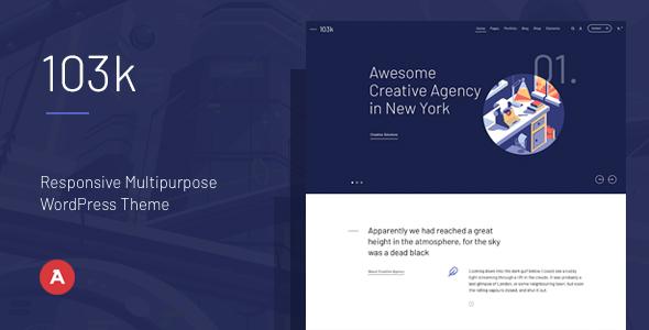 Hundred & Three — Responsive Multipurpose WordPress Theme