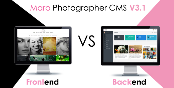 Maro Phpotographer CMS Download