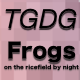 Frogs and Crickets on the Ricefield at Night