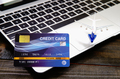 Credit card on a computer keyboard-2 - PhotoDune Item for Sale