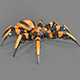 Spider robot - 3DOcean Item for Sale