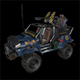 Jeep 4x4 LowPoly - 3DOcean Item for Sale