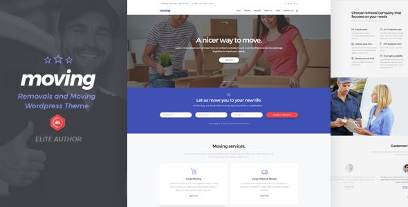 Moving - Transport & Logistic WordPress Theme