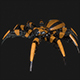 Spider Robot LowPoly - 3DOcean Item for Sale