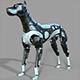Robot Dog Doberman - 3DOcean Item for Sale