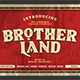 Brotherland - GraphicRiver Item for Sale
