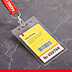Name Tag / Badge Mock-up - GraphicRiver Item for Sale