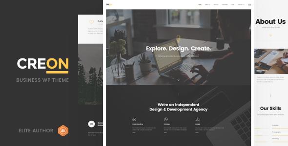 Creon - Business WordPress Theme
