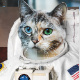 Astronaut Cat Album Cover Template - GraphicRiver Item for Sale
