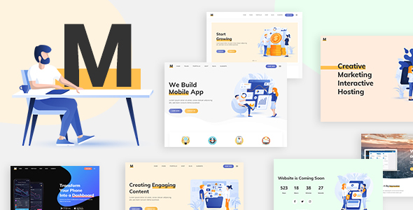 Milu – Tech and App Landing Page Theme Free Download