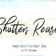 Shutten Reason - Duo Handwritting Brush Font - GraphicRiver Item for Sale