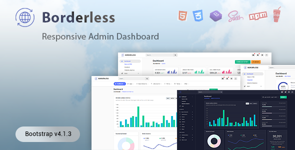 Backend HTML Admin Website Templates from ThemeForest