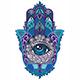 Hamsa Symbol - GraphicRiver Item for Sale