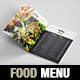 Elegant and Classy Food / Restaurant Menu A4 Brochure Template - Indesign - GraphicRiver Item for Sale