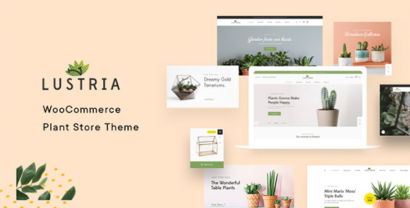 Lustria - MultiPurpose Plant Store WordPress Theme