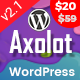 Axolot - Technology Services and IT Company WordPress Theme - ThemeForest Item for Sale