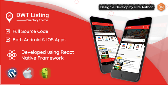 Make A Directory And Listing App With Mobile App Templates