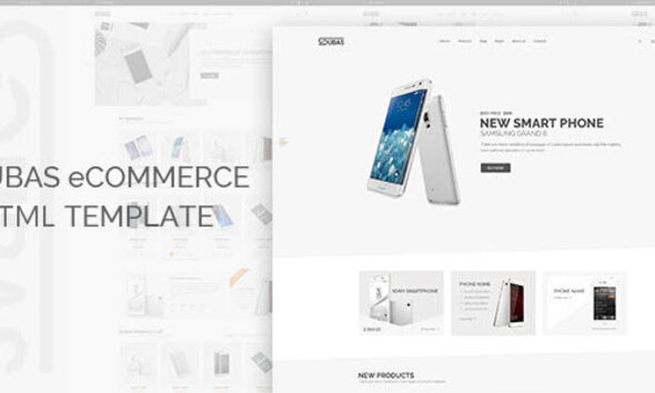 Subas – Electronics Store eCommerce HTML Template
