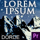 Cinematic Opener - Lorem Ipsum (Mogrt) - VideoHive Item for Sale