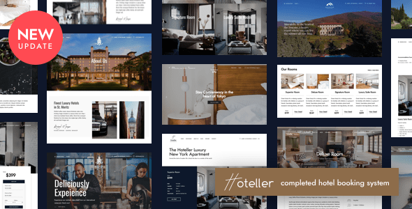Hoteller | Hotel Booking WordPress
