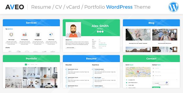 Resume / CV Theme