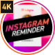 Instagram Follow Reminder - VideoHive Item for Sale