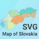 Map of Slovakia - CodeCanyon Item for Sale