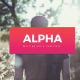 Alpha Powerpoint Templates - GraphicRiver Item for Sale