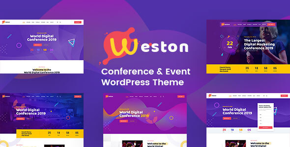 Weston - Conference & Event WordPress Theme