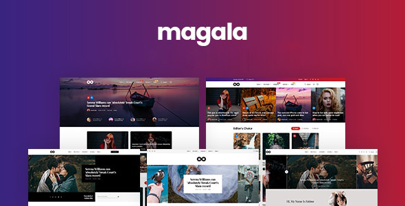 Magala - Magazine & Blog HTML 5 Template