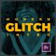 Modern Glitch Intro - VideoHive Item for Sale
