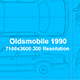 Oldsmobile 1990 Blueprints