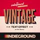 Retro Vintage Text Effects Vol. 4 - GraphicRiver Item for Sale