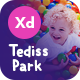 Tediss | Play Area & Child Care Center XD Template - ThemeForest Item for Sale