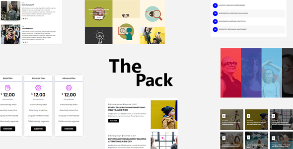 The Pack - Elementor Page Builder Addon
