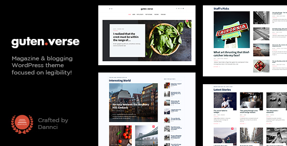 GutenVerse - Magazine and Blog Theme