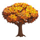 Realistic Isolated Autumn Tree - GraphicRiver Item for Sale