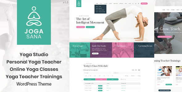 Jogasana - Yoga Oriented WordPress Theme