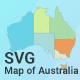 Map of Australia - CodeCanyon Item for Sale