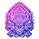 Bohemian Indian Mandala Print Vintage Henna - GraphicRiver Item for Sale
