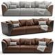 3D Model Bentley Home Winston Sofa - 3DOcean Item for Sale