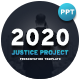 2020 Justice Project Presentation Template - GraphicRiver Item for Sale