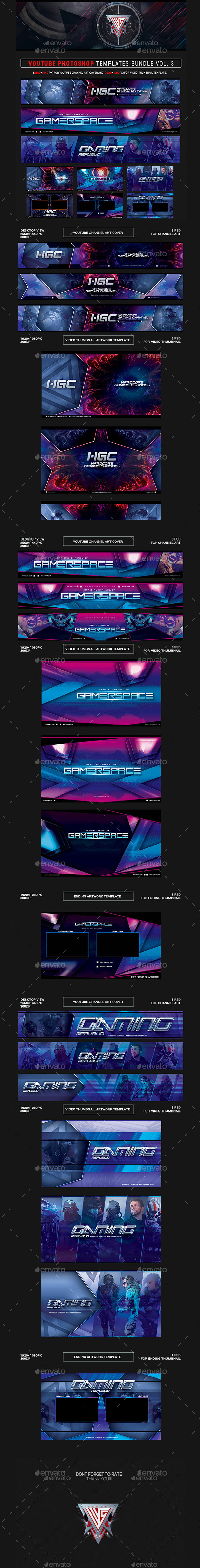Youtube Channel Art Template Dj And Template Graphics