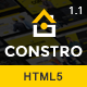 Constro - Construction Business HTML5 Template - ThemeForest Item for Sale