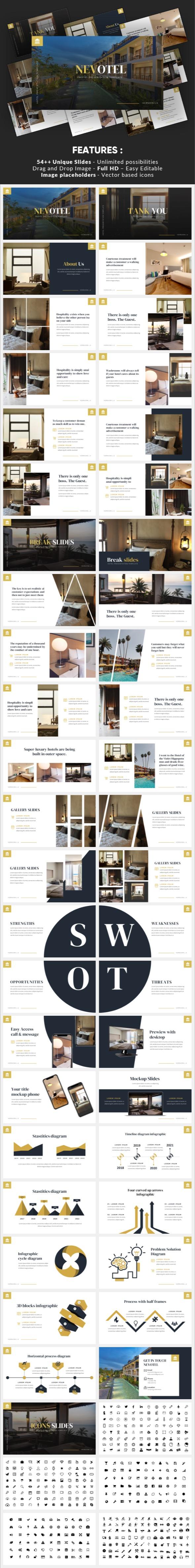 Nevotel - Luxury Hotel Powerpoint Template