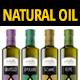 Oil Bottle Label - GraphicRiver Item for Sale