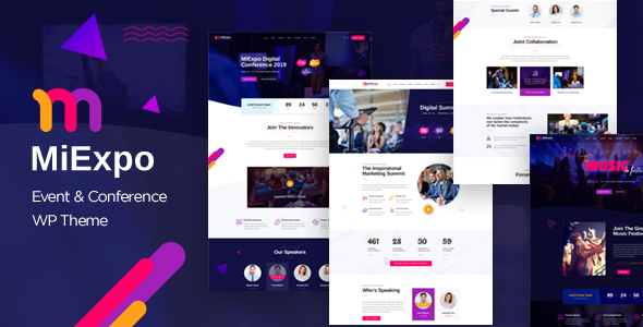 MiExpo | Event Conference WordPress Theme