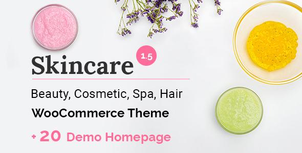 Skincare - Cosmetics Beauty Spa WooCommerce WordPress Theme