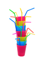 Plastic Cups and Straws - PhotoDune Item for Sale